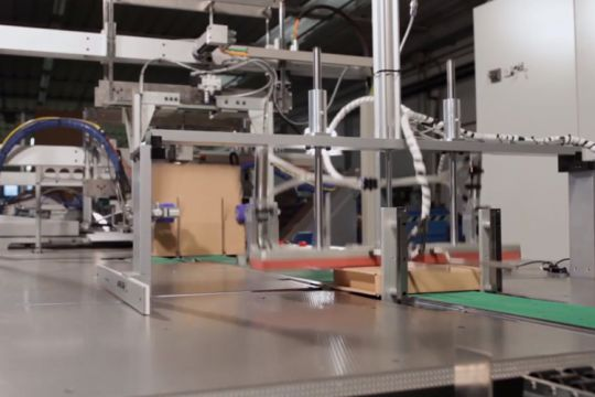 La Carton Wrap, la machine de box on demand industrielle