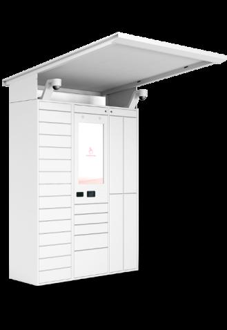 Meuble Pakpobox consigne d'extérieur