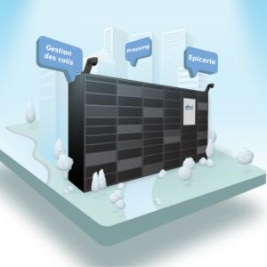 Pakpobox pour les projets urbains et l'immobilier