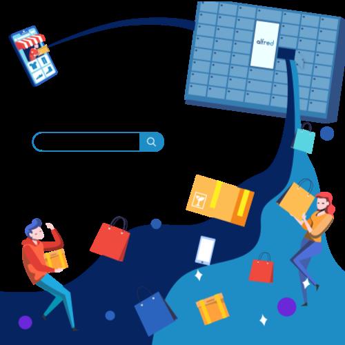 Consignes à colis Pakpobox pour le click and collect